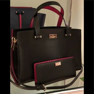 Kate Spade Caley & wallet